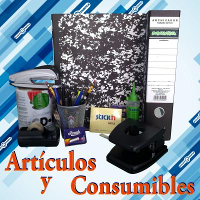 ARTICULOS Y CONSUMIBLES